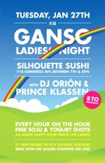 ganso ladies' night